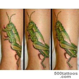 Grasshopper Tattoo Images amp Designs_1
