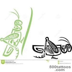 Grasshopper Tattoo Images amp Designs_4