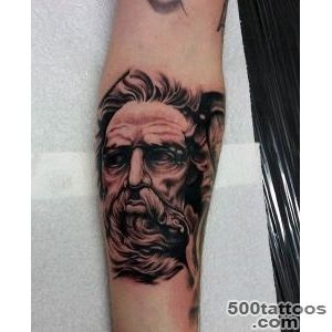 60 Greek Tattoos For Men   Mythology And Ancient Gods_21