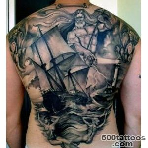 60 Greek Tattoos For Men   Mythology And Ancient Gods_37