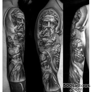 80 Zeus Tattoo Designs For Men   A Thunderbolt Of Ideas_38