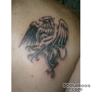 23+ Griffin Tattoos On Back_16