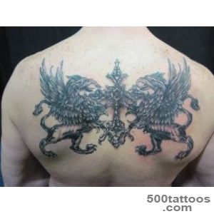 32+ Unique Griffin Sleeve Tattoos_23