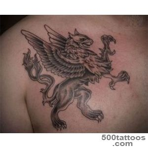 47+ Best Griffin Tattoos_4