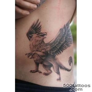 Griffin Scratching Tattoo By RabeaUmbra_20