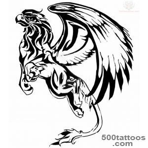 Griffin Tattoo Design For Young_10