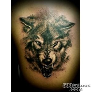 Wolf tattoo  Tattoo Designs_36