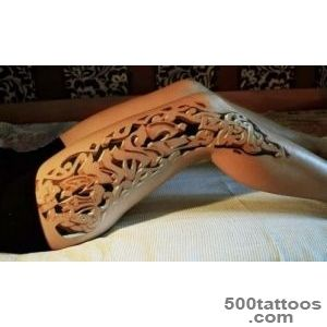 3d group tattoo pattern for men_8