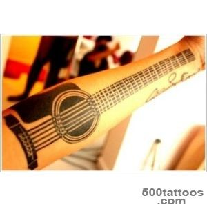 25 Creative Guitar Tattoo Designs_22