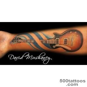 60 Inspirational Guitar Tattoos   nenuno creative_8