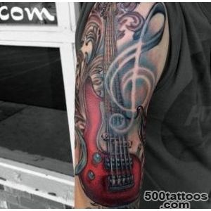 60 Inspirational Guitar Tattoos   nenuno creative_10