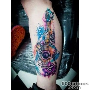 60 Inspirational Guitar Tattoos   nenuno creative_16