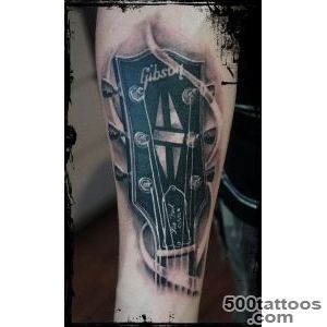 1000+ ideas about Guitar Tattoo on Pinterest  Tattoos, Music _4