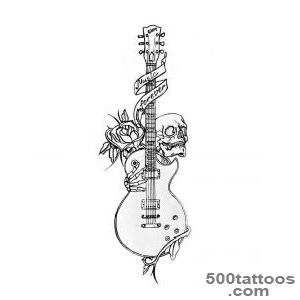 Guitar Tattoos on Pinterest  Guitar Tattoo, Music Tattoos and _6