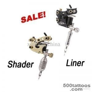 Solong Tattoo 2 Top Handmade Danny Fowler Tattoo Machine Gun Kit _47