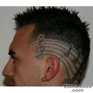14 Unique and Funky Hair Tattoos_20