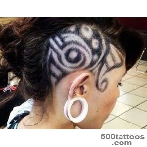 HAIR TATTOO ( Art Hair vystrig ) _36