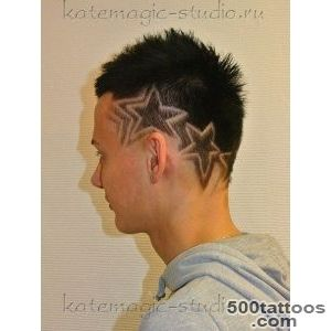Hair tattoo, vystriganie drawing , creative haircut picture on _ 42