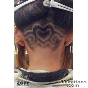 Hair tattoo   Frizerski salon Zoky – Komi?a, otok Vis_22