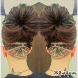 Now you see it How hidden hair #39tattoos#39 are the latest craze to _10