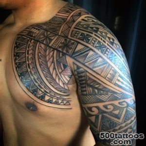 60 Hawaiian Tattoos For Men   Traditional Tribal Ink Ideas_6