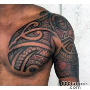 60 Hawaiian Tattoos For Men   Traditional Tribal Ink Ideas_9