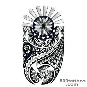 Hawaiian Tattoos Designs   Sleeve Tattoo Ideas_34