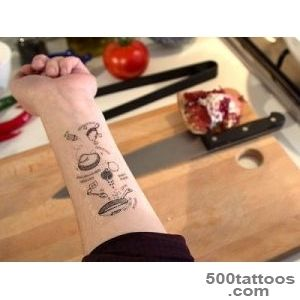 Genius Idea Temporary Recipe Tattoos   Health News and Views _15