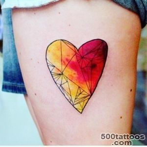 40 Sweet Heart Tattoo Designs and Meaning   True Love_26
