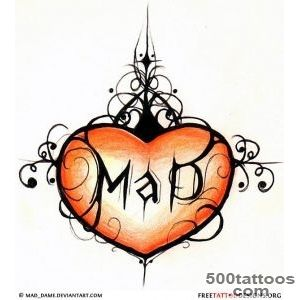 55 Heart Tattoos  Love And Sacred Heart Tattoo Designs_40
