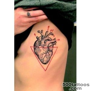 100 Delightful Heart Tattoos Designs For Your Love_3
