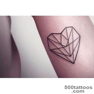 100 Delightful Heart Tattoos Designs For Your Love_17