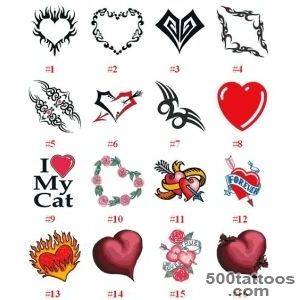 Designs Of Heart Tattoo_44