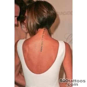Victoria Beckham#39s Hebrew ink disappearing  The Times of Israel_15