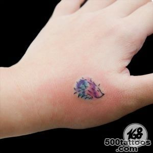 Hedgehog Tattoo Designs Ideas Meanings Images