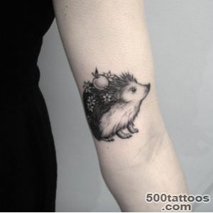 Hedgehog Tattoo by Elizabeth Markov   TattooBlend_3