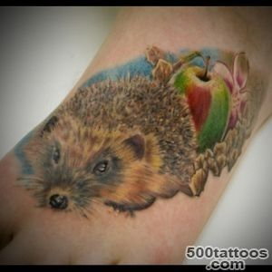 Hedgehog Tattoo Meanings  iTattooDesignscom_13