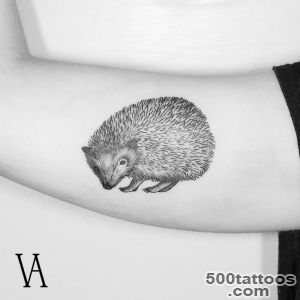 hedgehog tattoos  Tumblr_42