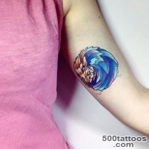 Inner Arm Hedgehog Tattoo  Best Tattoo Ideas Gallery_18