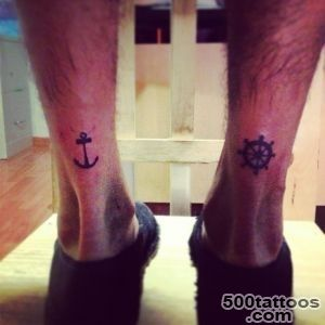 Anchor amp Helm Tattoo  Tattoos  Pinterest  Helm Tattoo, Anchors _18