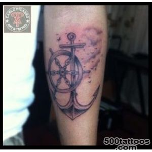 anchor and helm tattoo on forearm, Dagupan City, Pangasinan _15
