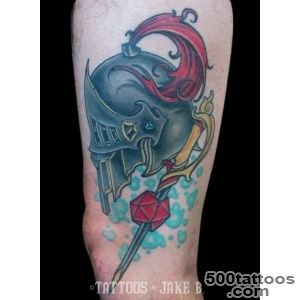 DampD Helm Tattoo   Tattoos by Jake B_38