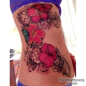 40 Magnificent Hibiscus Flower Tattoos  Art and Design_28