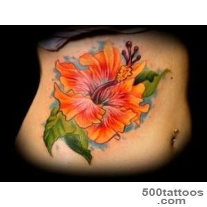 50+ Beautiful Hibiscus Tattoos_19