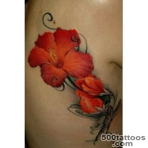 50+ Beautiful Hibiscus Tattoos_37