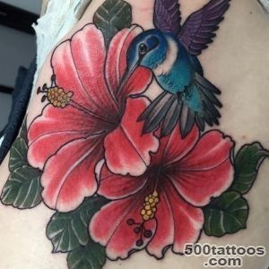 Hibiscus Flower Tattoo_2