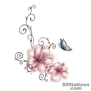 Hibiscus Tattoo Designs Ideas Meanings Images