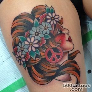 Hippie Tattoo Images amp Designs_7