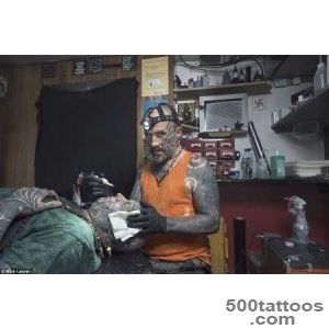 POhotographer Matt Leaver#39s #39Tattoos#39 bid to debunk thuggish myth _48