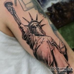 statueofliberty #hooligan #skeleton #liberty #tattoo #The…  Flickr_24